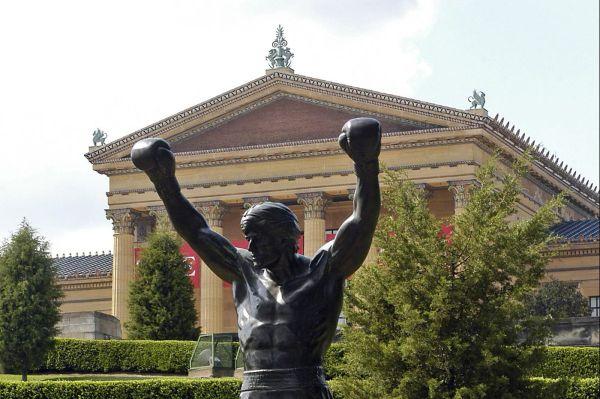 Rocky Steps Philadelphia Art Museum