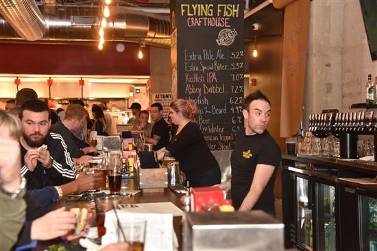Flying Restaurant Hd Fish