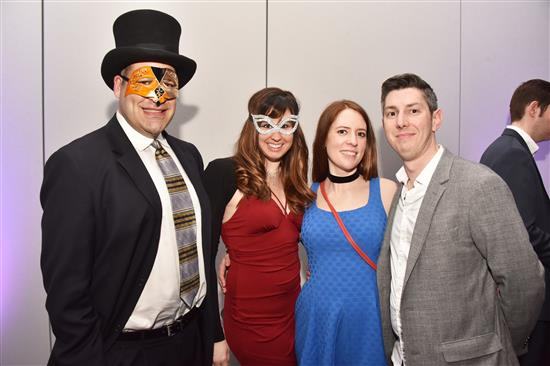 Josh Kaufman, Katie Bouchard, Rebecca Harvey and Ryan Taylor