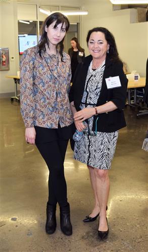Jaclyn Slimm and Karen Mandel