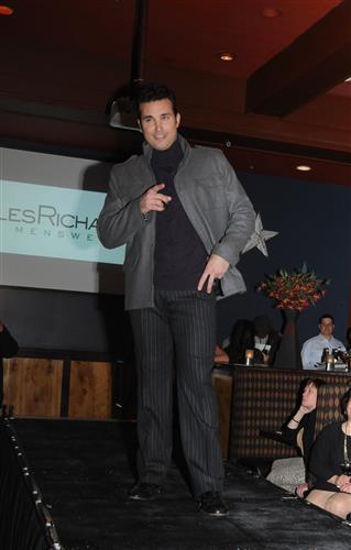 Weatherman Doug Kammerer at Public House Fashion Show 12 3 08 (Custom)
