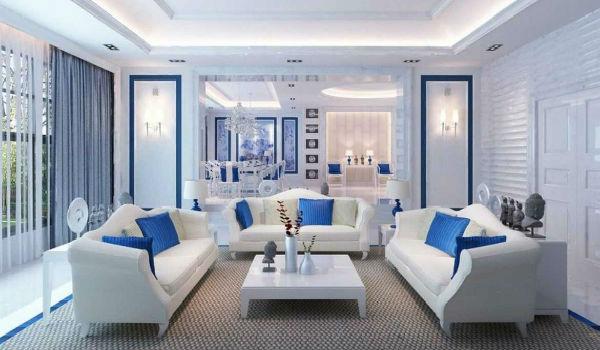 Warna Dalam Rumah Yang Cantik  Desainrumahidcom