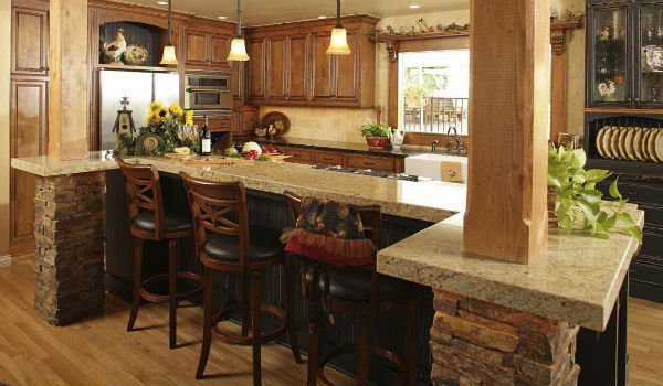 Desain Dapur Menyatu Dengan Ruang Makan