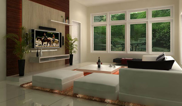 Desain dan Dekorasi Rumah Minimalis  PhillyCinema  INTERIOR EKSTERIOR RUANG TAMU RUANG