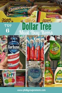 Top 6 Dollar Tree pinterest image