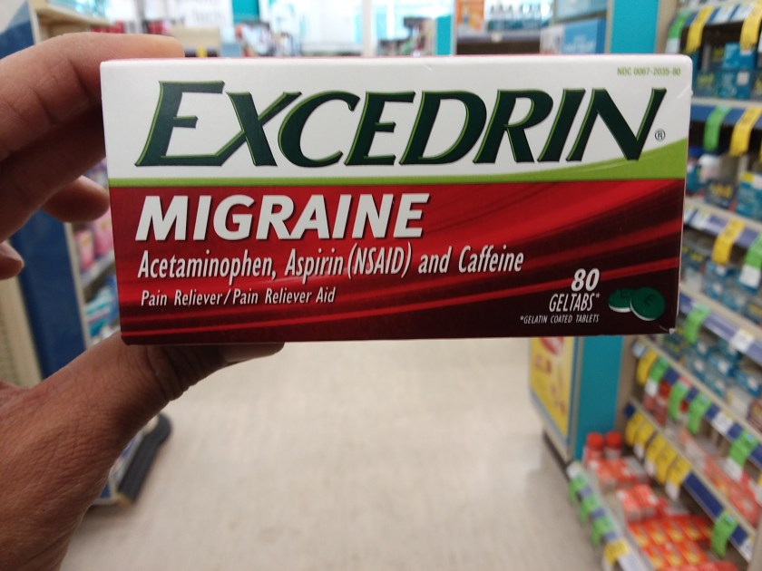 excedrin at walgreens