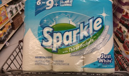Sparkle Paper Towels at Giant - Phillycouponmom.com