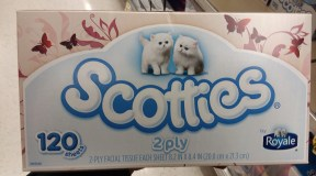 Shoprite~ Scotties Facial Tissues only $0.88, ends 9/22!