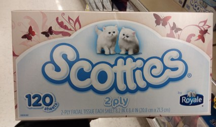 Scotties Facial Tissues at Shoprtie