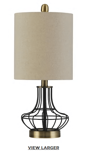 Kohls Table Lamps New Kohl's 6060 Contemporary Industrial Table Lamp Reg 6060