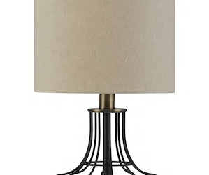 contemporary industrial table lamp at kohls