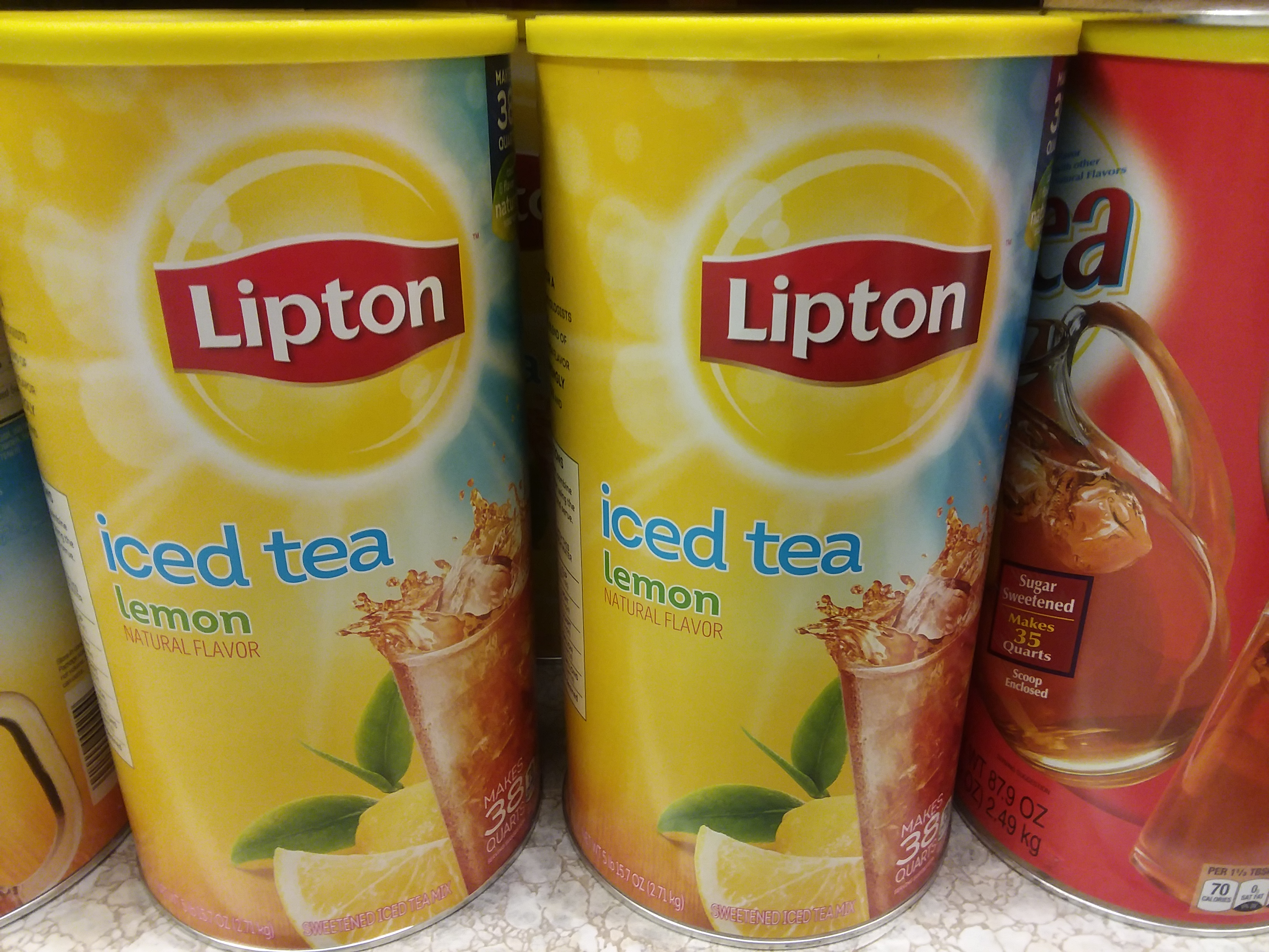 picture regarding Lipton Tea Printable Coupons named Shoprite ~ Lipton Iced Tea Blend just $2.99, finishes 5/5
