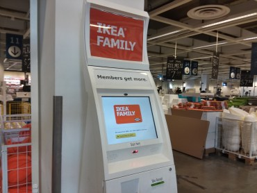 Ikea Family Card Kiosk