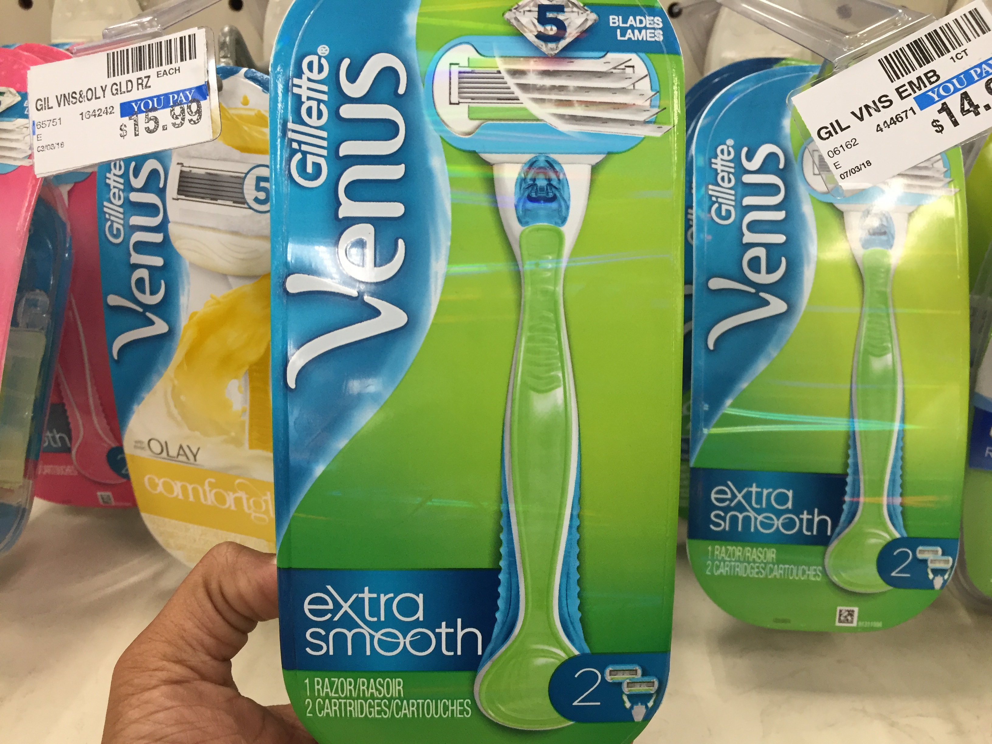 graphic about Venus Razors Printable Coupons titled Gillette Venus Razors, just $2.99 at CVS, finishes 4/13