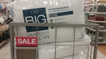 the big one pillow at kohls