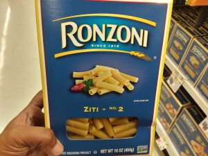 Ronzoni Pasta at Shoprite