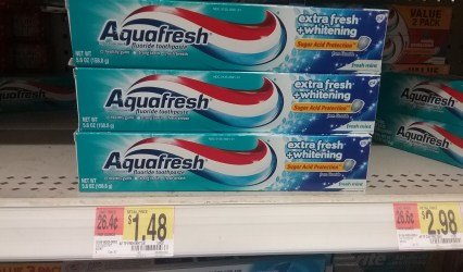 aquafresh toothpaste at walmart