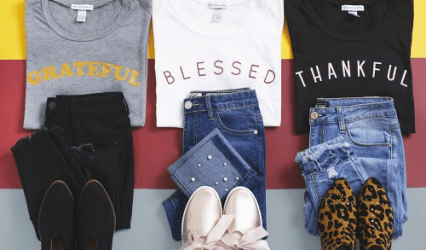Cents of Style - Thankful Shirts