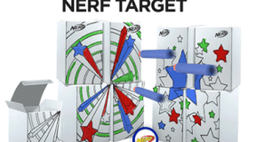 Create Your Own Nerf Target at JCPenney (Tomorrow 12/8)!