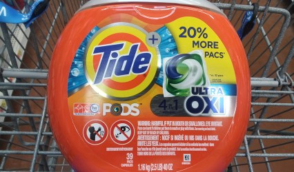 Tide Pods at Walmart - Philly Coupon Mom