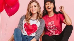 Buy 1 Get 1 FREE – Valentine Graphic Tees and Sweatshirts! Use Code: 2FORLOVE