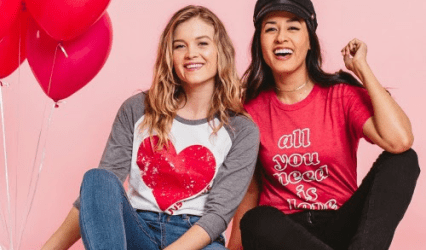 Cents of Style Valentines - All you need is love Shirt 2