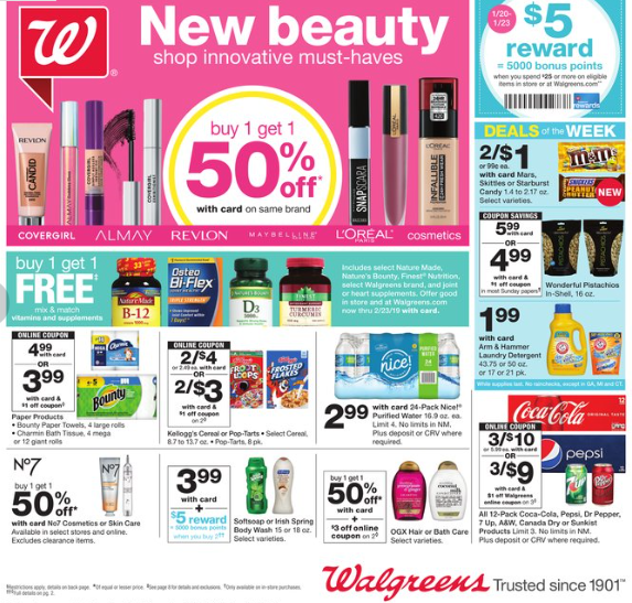Walgreens AD 1/20-1/26 - Philly Coupon Mom