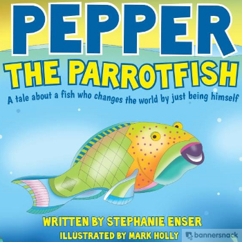 pepper the parrotfish book - Philly Coupon Mom