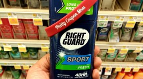 Right Guard 48-Hr Deodorant, only $0.99 at Shoprite, ends 2/23!