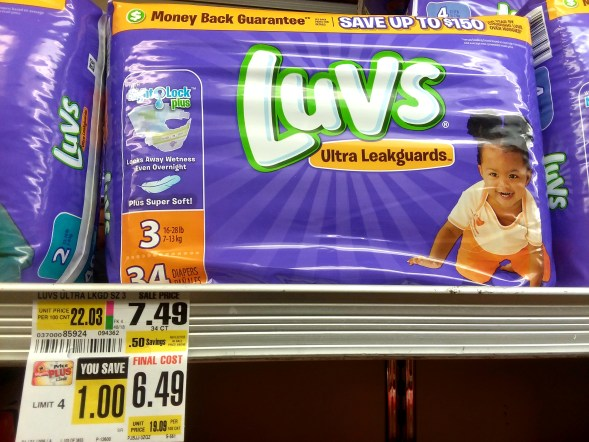 Luvs Diapers at Shoprite - Philly Coupon Mom