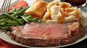 Boston Market ~ $29.99 Prime Rib Dinner for Two or $5 off Family Meal Coupon, Today Only!