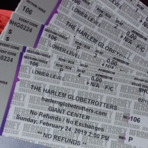 Harlem Globetrotters Review - Philly Coupon Mom