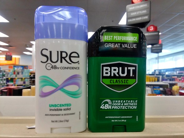 Sure or Brut Deodorant at CVS - Philly Coupon Mom