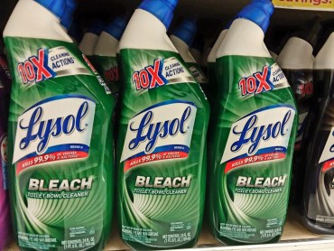 Lysol Cleaner at Shoprite