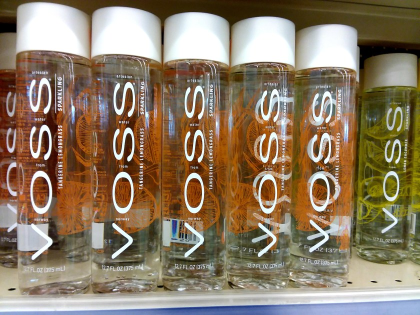 Voss Water at Walgreens