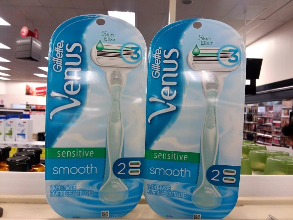 Venus Smooth Sensitive at CVS