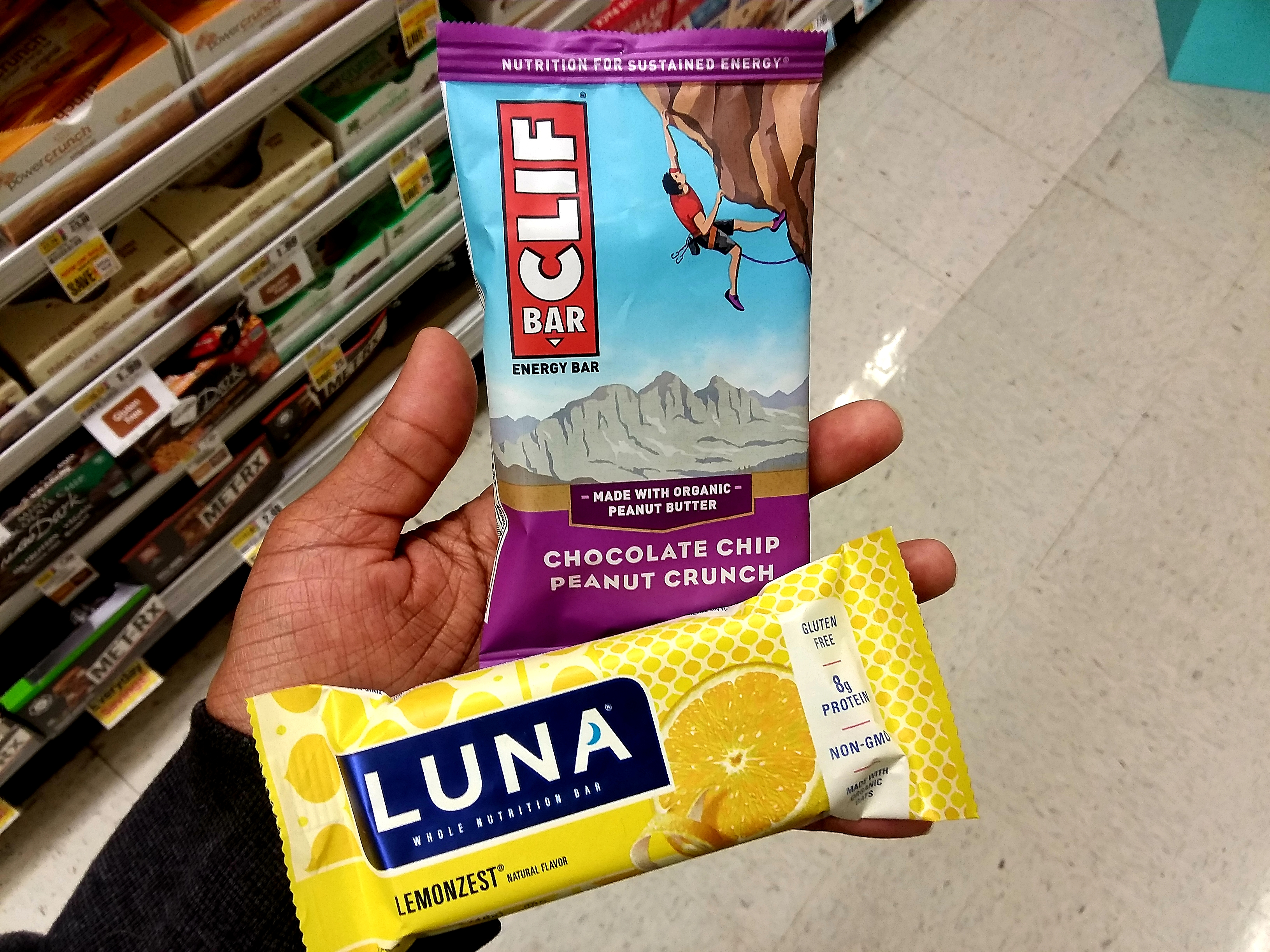 photo regarding Cliff Bar Printable Coupons called Luna or Clif Bars, simply just $0.88 at Shoprite, finishes 4/27