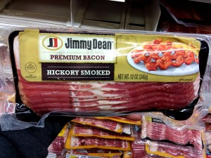 Jimmy Dean Bacon at Shoprite