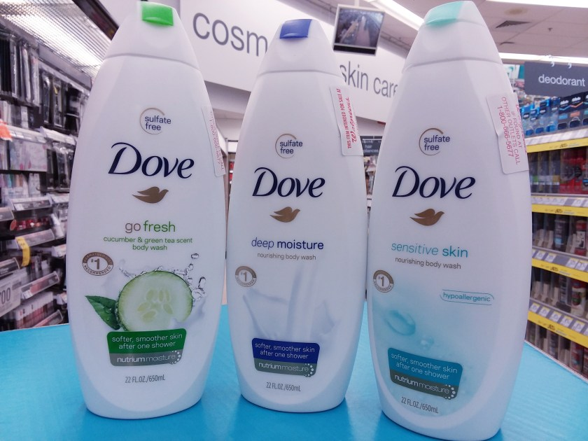 Dove Body Wash at Walgreens