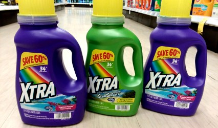 Xtra Laundry Detergent at Walgreens
