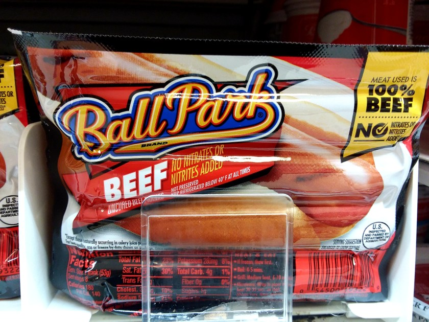 Ball Park Franks at Shoprite