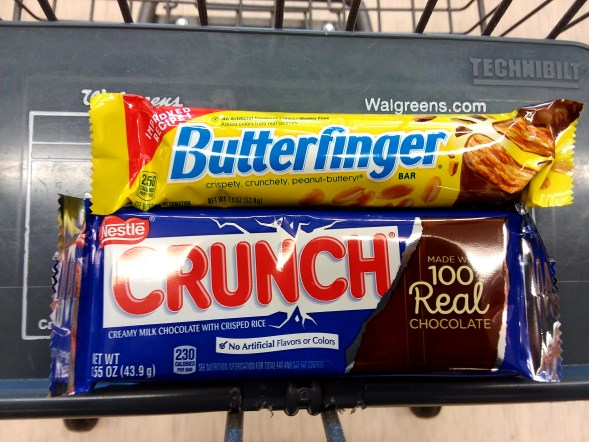 Nestle Candy at Walgreens