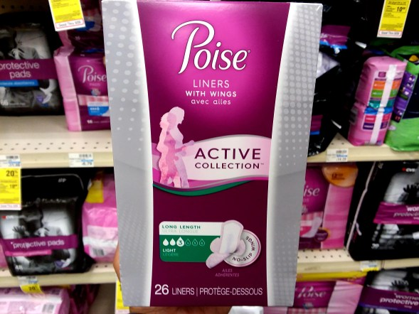 Poise Active Collection at CVS
