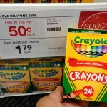 Crayola Crayons at Staples only $0.50