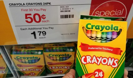 Crayola Crayons at Staples