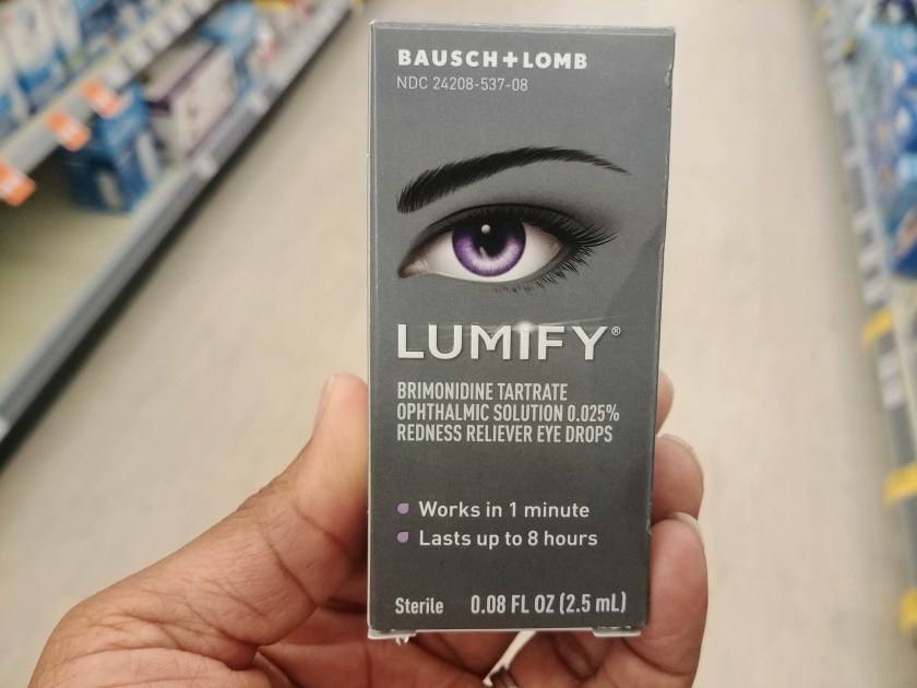 Lumify Redness Reliever Eye Drops at Walgreens