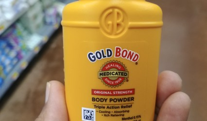 gold bond at walmart