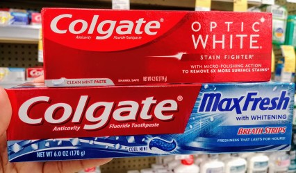 Colgate Toothpaste at Walgreens