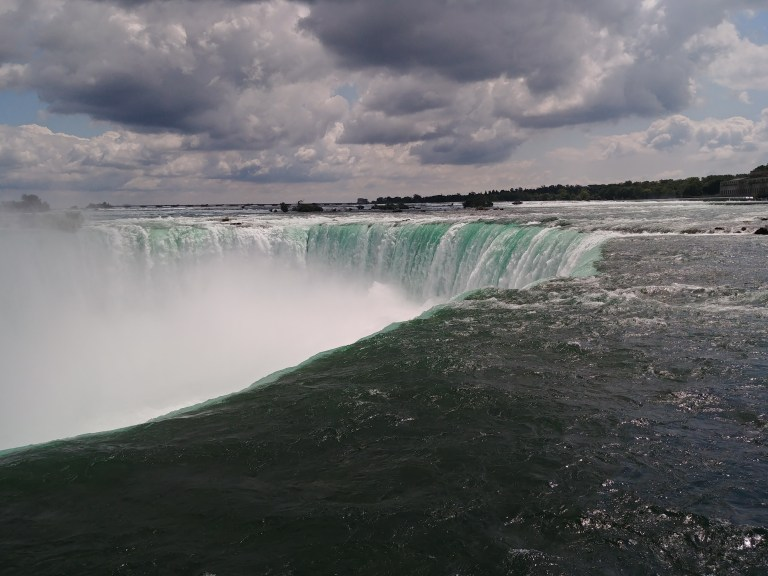 An Awesome View of the Falls