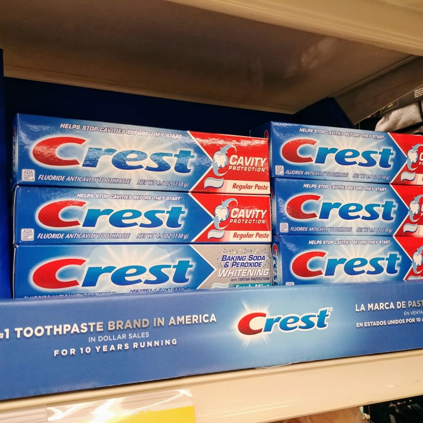 Crest Toothpaste at Acme